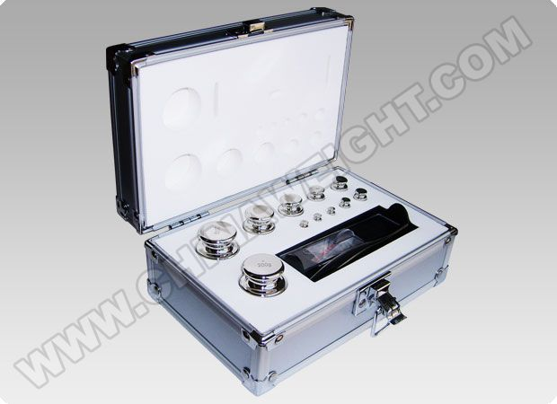 Stainless Steel Test Weights with Aluminium Box