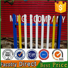 2016 hot sale cheap steel palisade fencing,second hand palisade fencing for sale with credit for security