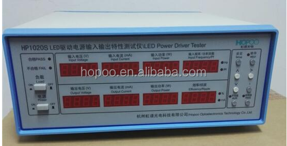 Manufacturer HOPOO HP1020S LED power driver input and output characteristics tester