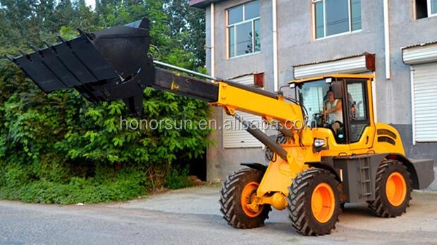 telescopic loader for sales /telescopic EU-2500 wheel loader made in China