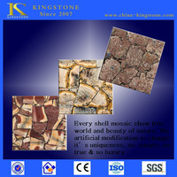 Best Quality turquoise olive drab stone mosaic tile with own quarry & CE certificate