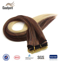Wholesale Top Quality Heat Resistant Synthetic Fiber Hair Weaving