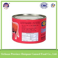 China goods wholesale beef products canned/wholesale canned corned beef