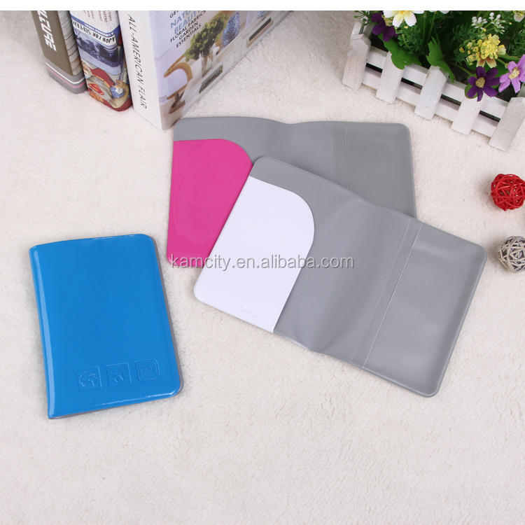 PVC Traveling Passport Holder or Passport Case with reach Standard