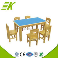 Wooden Colorful Children Table And Chair/Wooden Study Table Designs/Kids Study Table