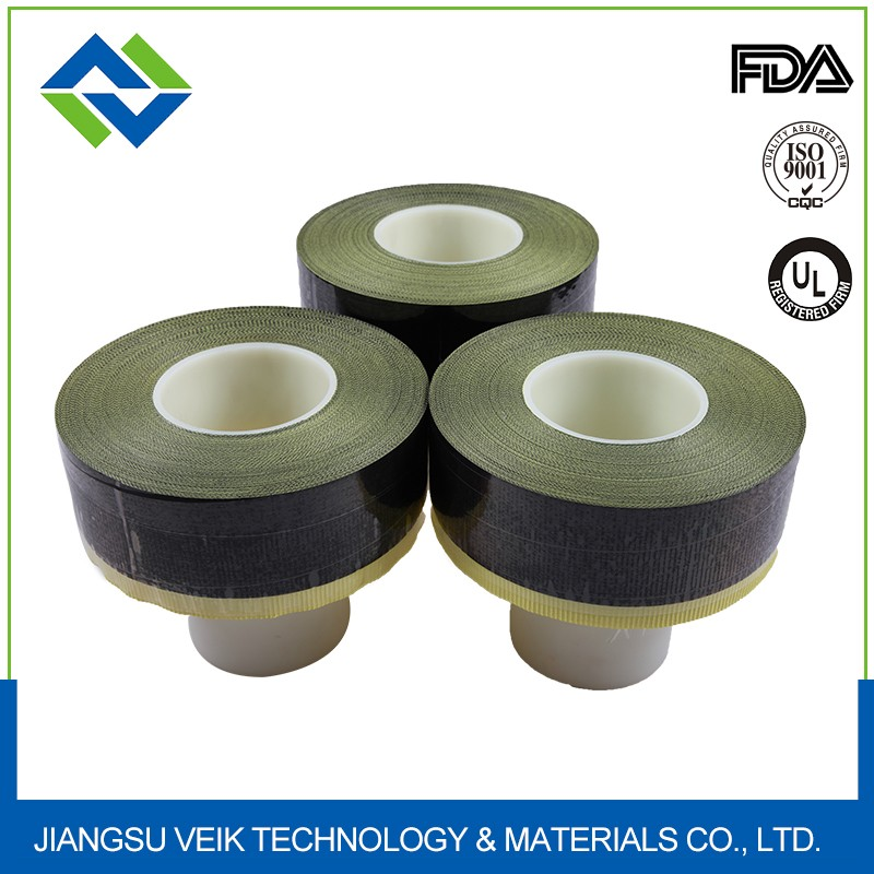 Easily cleaned PTFE Coated Fiberglass Fabric With Silicone Adhesive