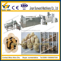 soya small manufacturing machines/automatic suasage meat processing line/ soybean protain maker