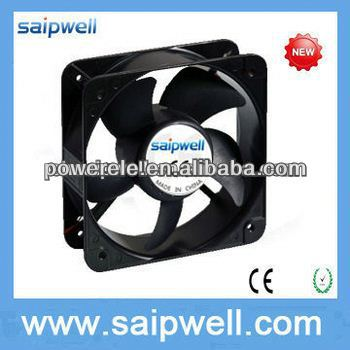 Good quality black 12 volt dc battery power fan