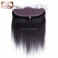 human hair lace front closure, peruvian straight lace closure wholesale