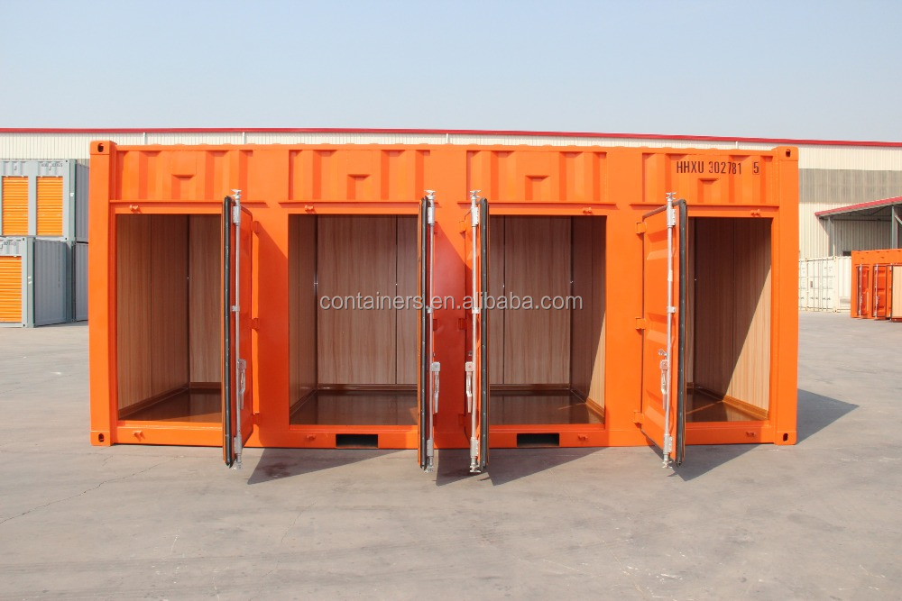 Cheap CSC certificated 20' one side door open side shipping container storage container