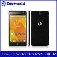 New Arrival 5.5 inch 2GB RAM 32GB ROM 13MP MTK6592T True Octa-Core 2.0 GHz 3D Holographic Phone Takee1