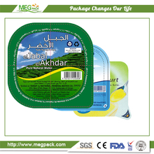 Aluminum Foil Lid Coated With PP / Aluminum Foil Lid For Food Container