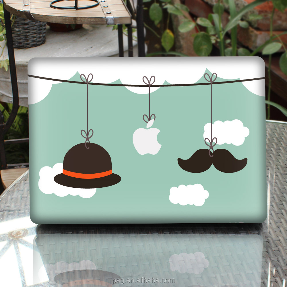 PAG Removable Decorative Skin Sticker for MacBook Air / FOR Pro / FOR Pro with Retina Display