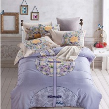 Factory direct sale printed nobility european bed linen