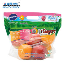 Quality plastic Fruit Gift Packaging bag ziplock