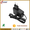 EU plug wall adapter 12V 1A AC/DC switching power supply