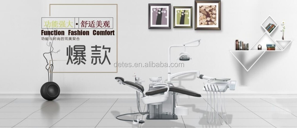 Detes high quality floor type dental chair TS-TOP301