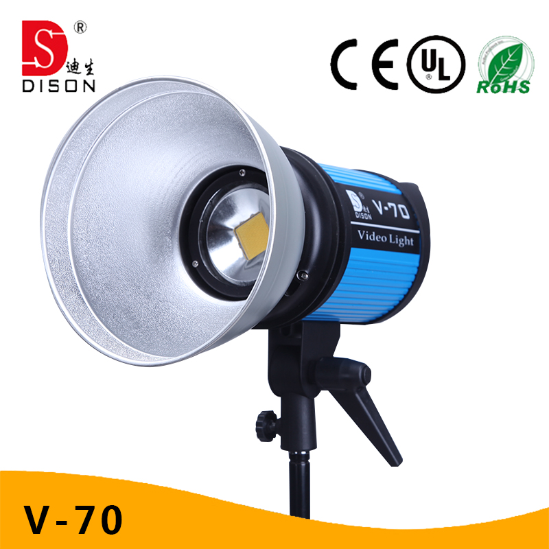 60W LED Fresnel Spot Professional Film Photography Studio Light