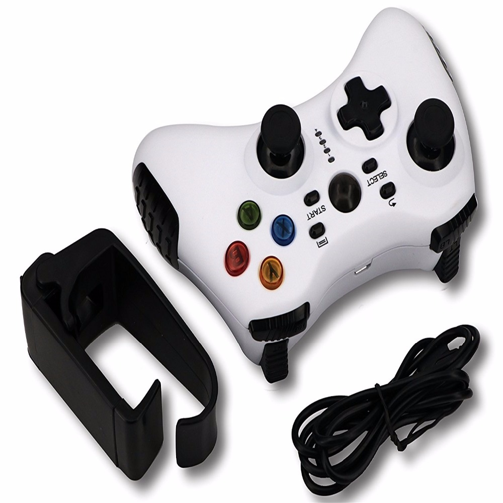 Bluetooth Controller,Gamepad Wireless Phone Game Controller Joystick for Android Smartphone Tablet PC TV Box (include holder)
