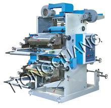 YT Series Double Color Plastic Film Flexible Printing Machine