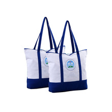 New style durable taobao canvas tote bag clothes cotton canvas shopping bag