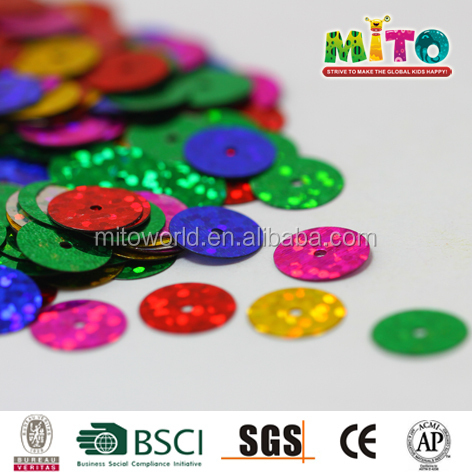 Decorative Sequins 10mm 12mm 15mm colorful roundness