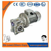 Cheap car wash machines three phase motor with gear box VF75