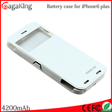 External battery case 4200mAh for iPhone 6 Plus cell phone accessory