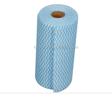 Embossed wave pattern Nonwoven industrial Cleaning Wipes