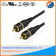 Audio Digital Coaxial RCA Composite Video Cable (50 Feet) Gold Plated Dual Shielded RCA to RCA Male Connectors