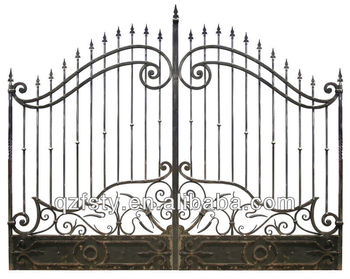 Modern Wrought Iron Main Gates Designs/Models
