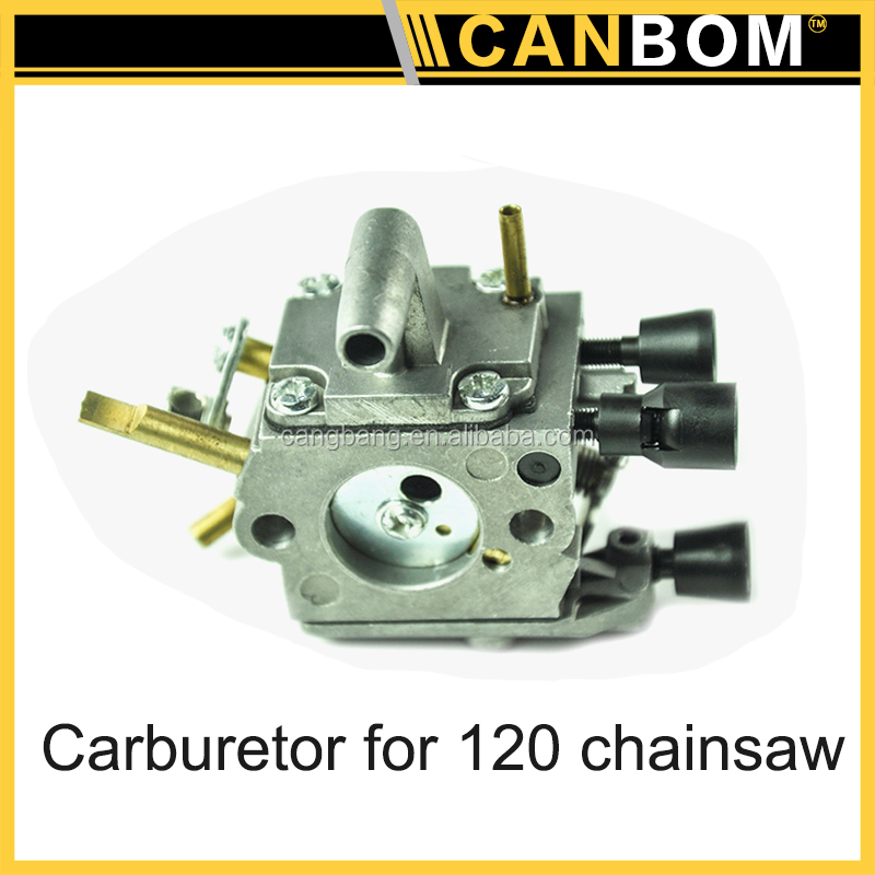 Garden tool spare part cheap 120 chainsaw part kits,gasoline chain saw aluminum kia pride carburetor for with bottom price