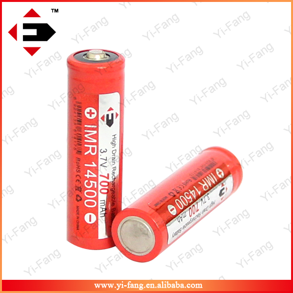 High v2 EFAN IMR14500 LiMn Button top battery for vMox 14500mod/Matrix Multi