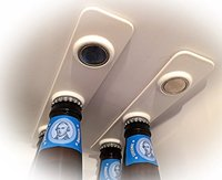 Strong magnetic beer bottle hanger bottle loft magnets