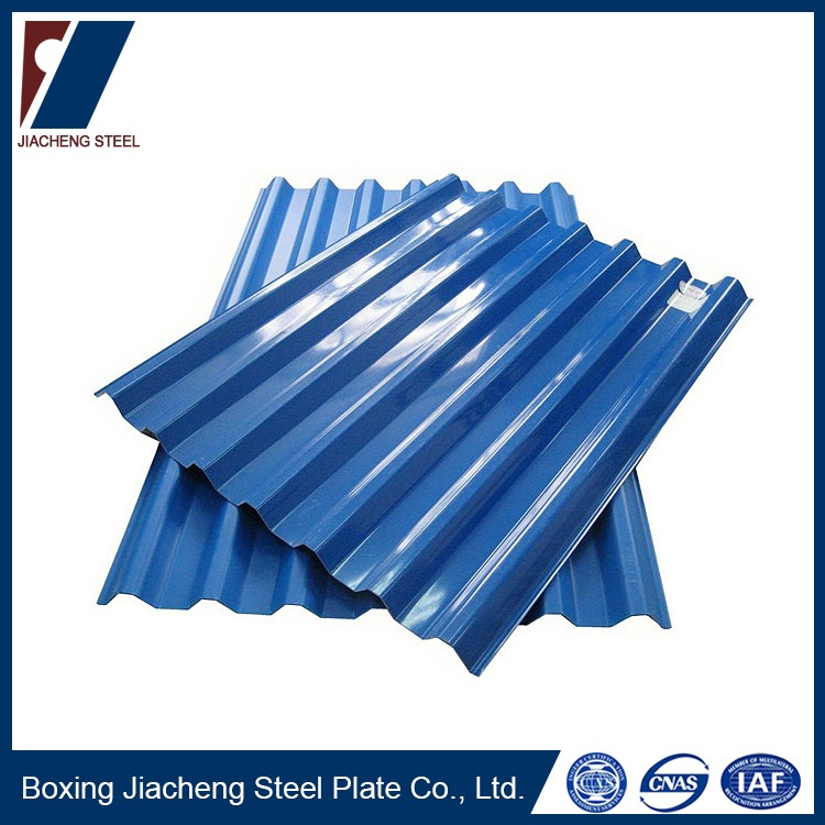 Used 20 gauge corrugated steel iron roofing sheet