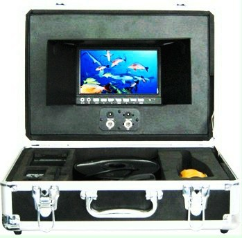 7 inch screen underwater video camera for free diving, fishing