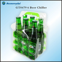 recycalable pvc beer bottle cooler bag,ice chiller bag for beer