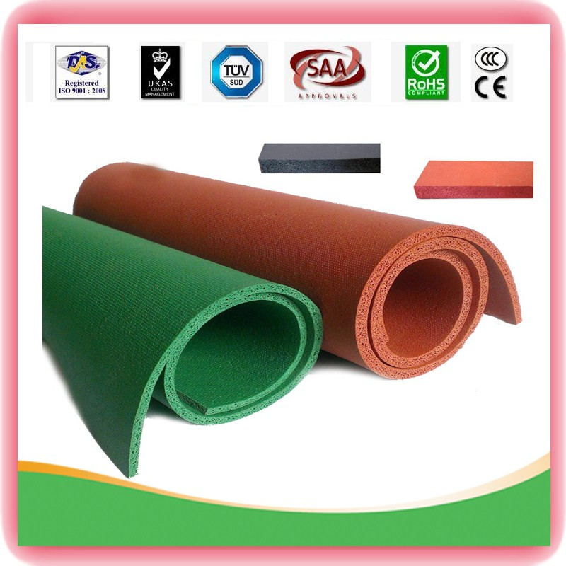 Good sell high Quality Sponge Rubber Sheet