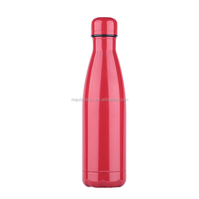 Vacuum Insulated Double Walled Stainless Steel Cola Shape Portable Water Bottle Keeps Your Drink Hot & Cold