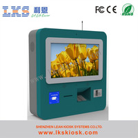Indoor Touch desktop compute self service bank kiosk wall mounted vending machine