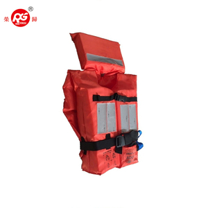 SOLAS EC approved Marine adult foam fabric water safety life vest jacket