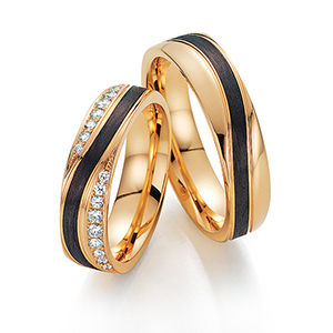 couple wedding ring his and hers sets