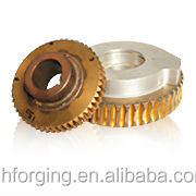 Forging worm gear for GIS