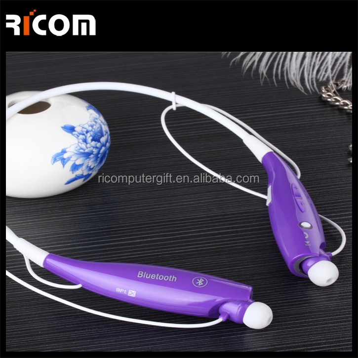 blue bluetooth headset wireless for all phone,bluetooth headset two way radio,mobile phone bluetooth headset--BTH-216--Ricom