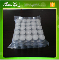 wholesale paraffin wax 4 hours tea lights candles in tin