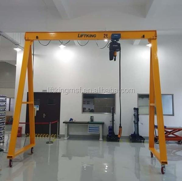 Jib Crane Usage : Liftking easy moving hand pushed work usage crane