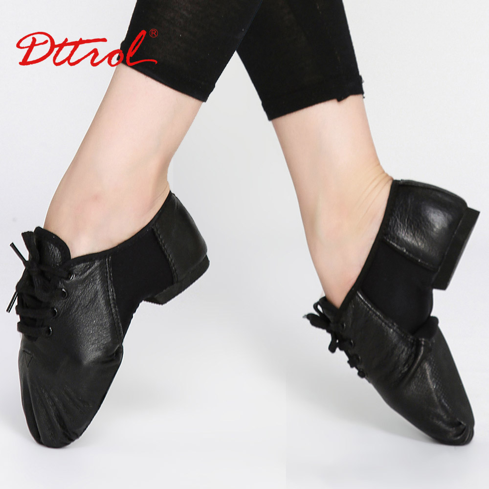D006062 Dttrol dance wholesale elastic oxford leather jazz shoes