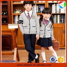 2016 New model sweater school uniforms for adults korean high school uniforms wholesale kid primary school uniform (ulik022)