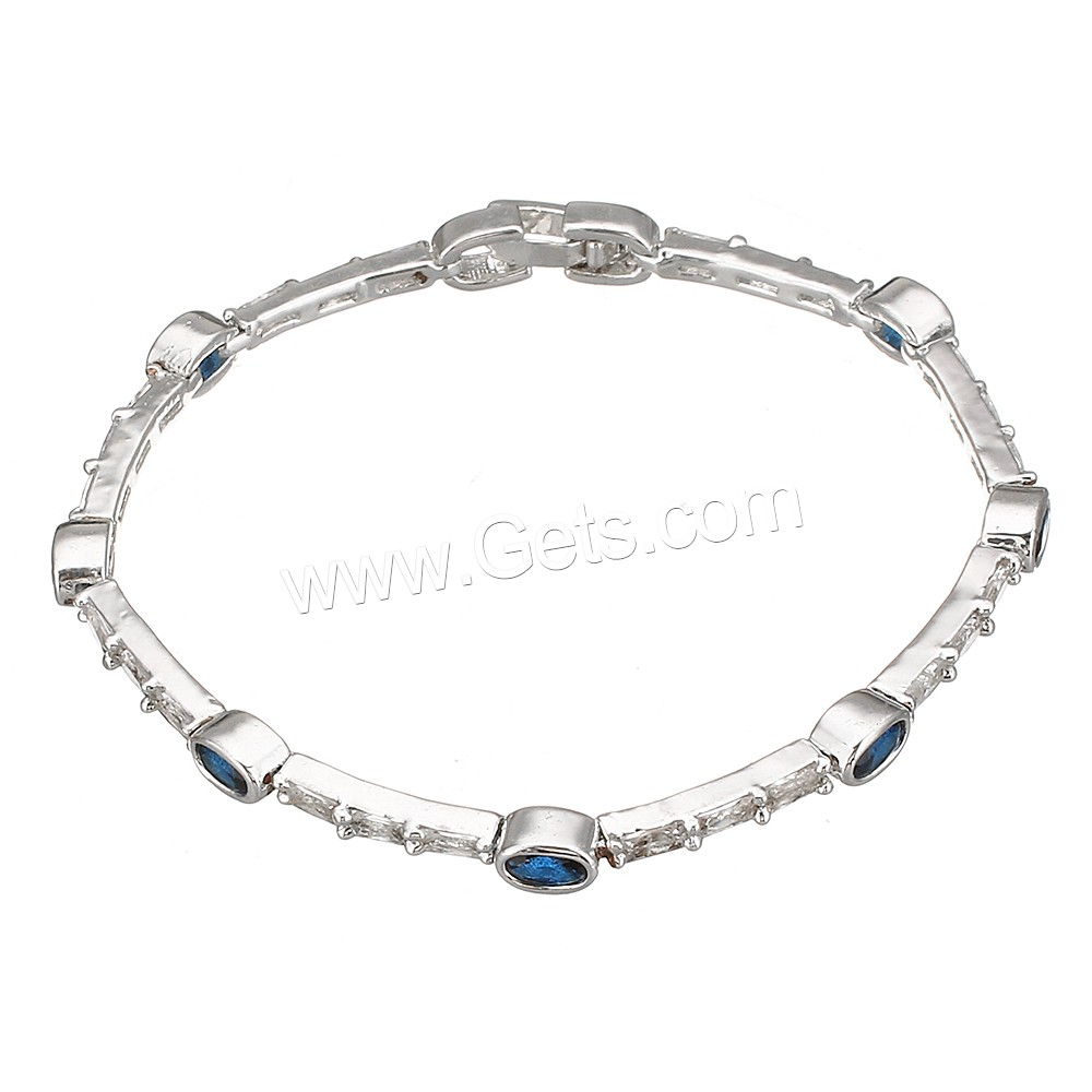 925 sterling silver Cubic Zirconia Sterling Silver Bracelets wholesale fashion jewelry
