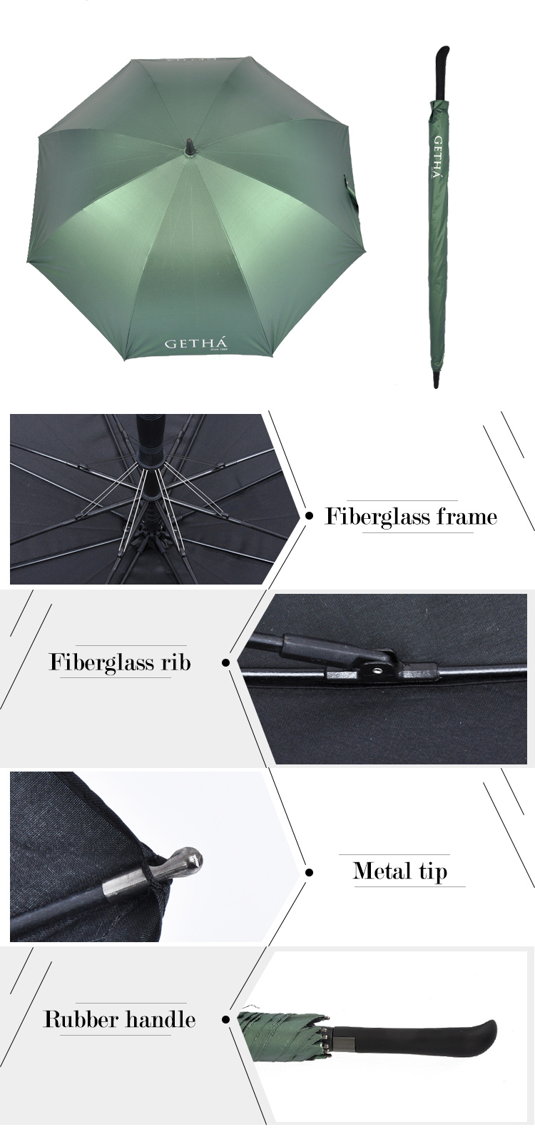 Umbrella Custom Logo